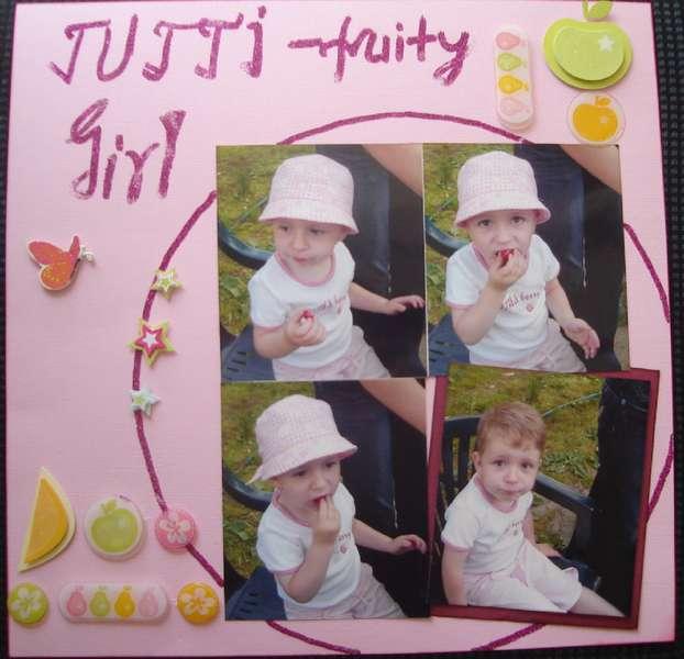 Tutti frutty girl