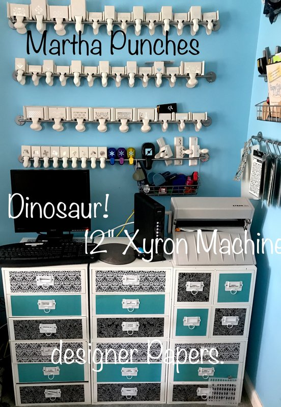 Reorganized Scrap Room!