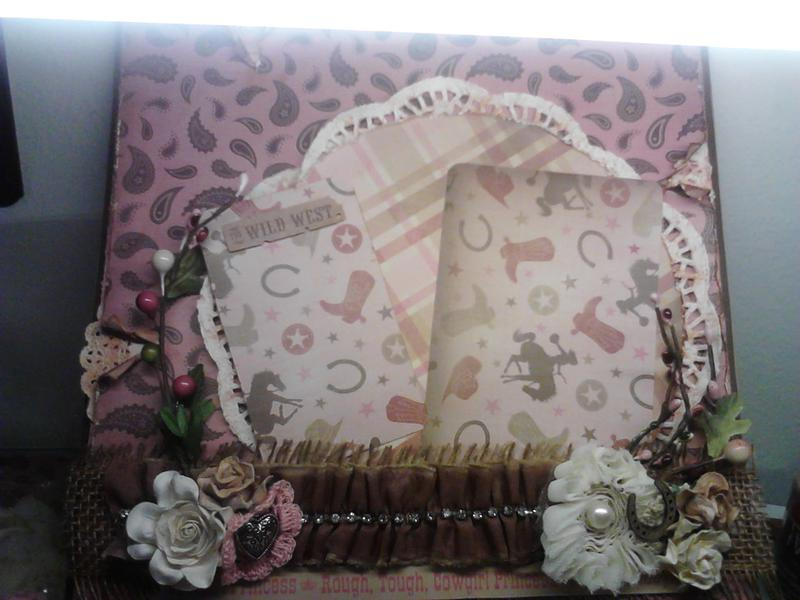 Cowgirl Shadow Box