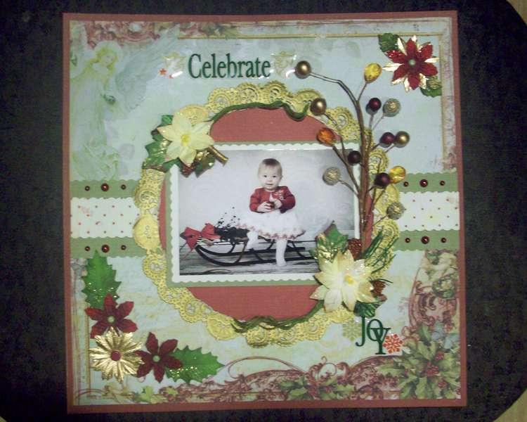 Celebrate ***Swirly doos Noel kit***
