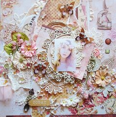 Reneabouquets Product Ambassador Layout using Prima Love Clippings