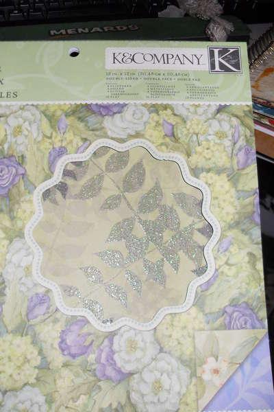 Paper used for mini album