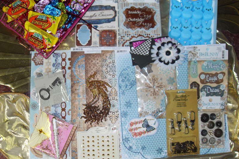 Easter basket swap with Scrapnlilly
