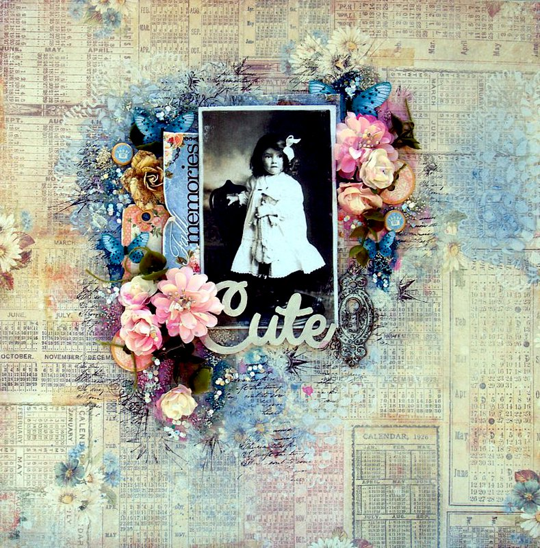 Cute  / Scraps of Elegance - Lisa's Sweet September Kit