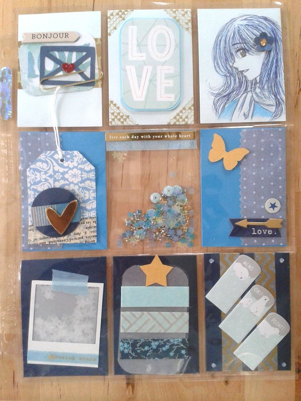 Pocket Letter - Blue