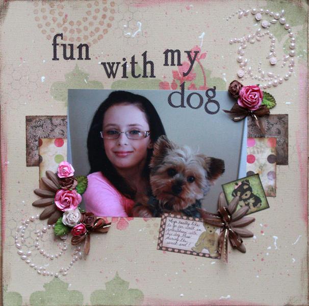 Fun with my dog