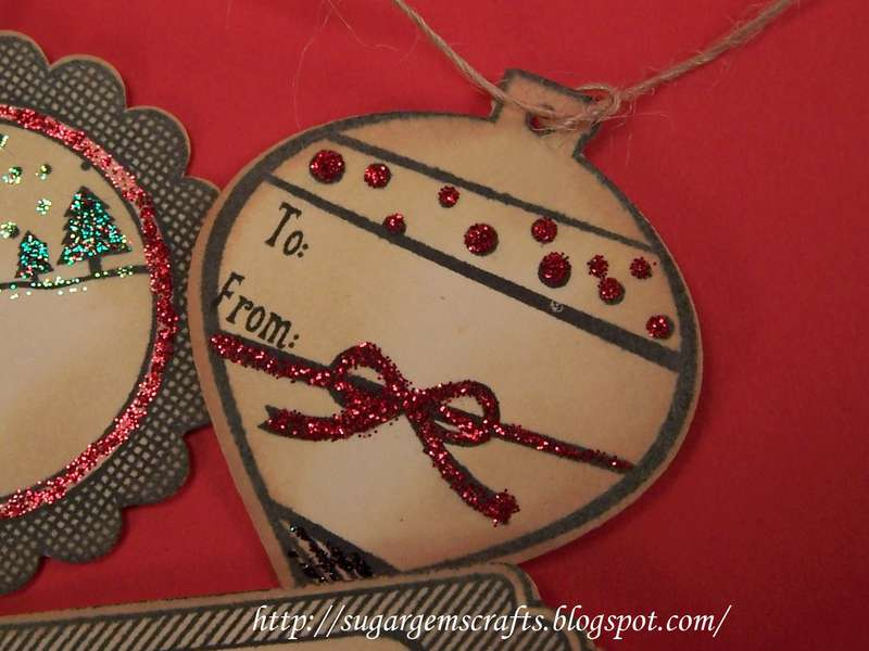 Vintage Christmas Tags My Thoughts Exactly stamps and SVG's