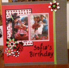 Sofia's 1st Birthday