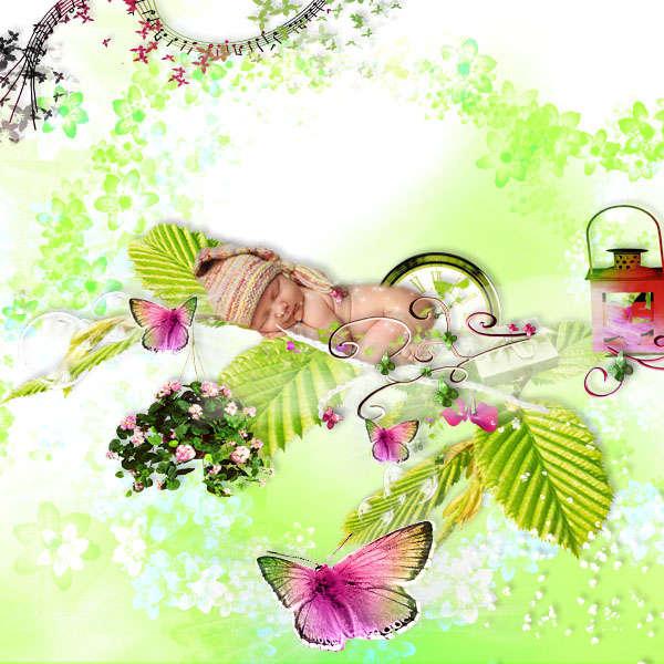 Mon bapteme de papillon by Annliz