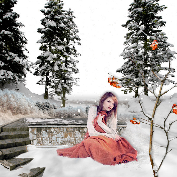 Winter scenery overlays by Eena Creation