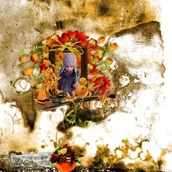 Kit Jolie citrouille by Melie design