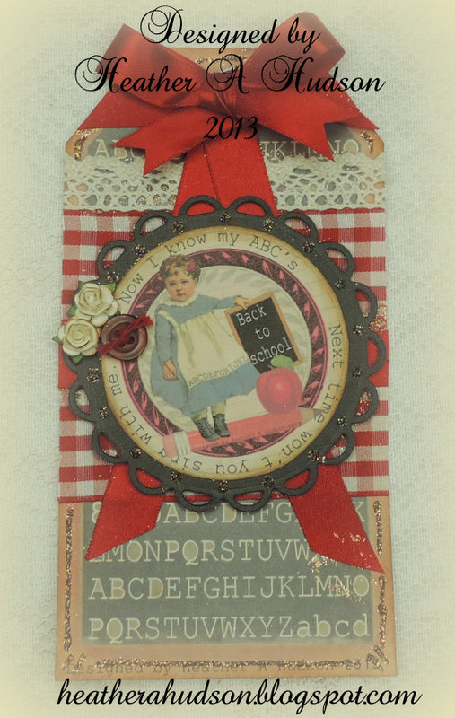 Vintage Primary Back to School Tag