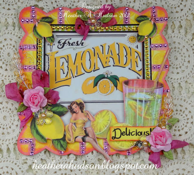 "Pro 31 Designs Blog Hop & Give Away  ""Fresh Lemonade"""