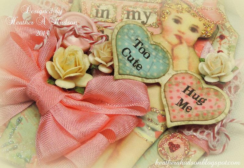 Vintage Valentine  Tag/Card Tutorial