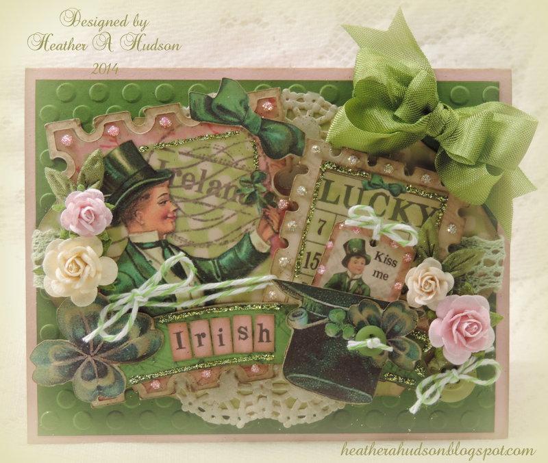 St. Patrick's Day Lucky Irish Card