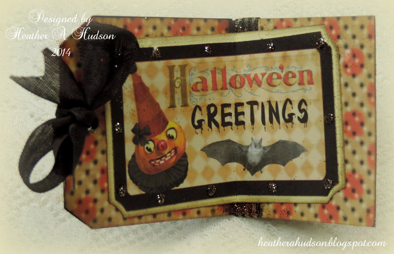 Vintage Halloween Spooktacular Tag for My Artistic Adventures  Halloween Challenge