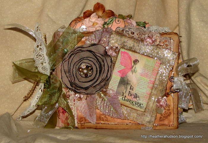 Vintage paper bag mini album ** Gekco Galz DT **