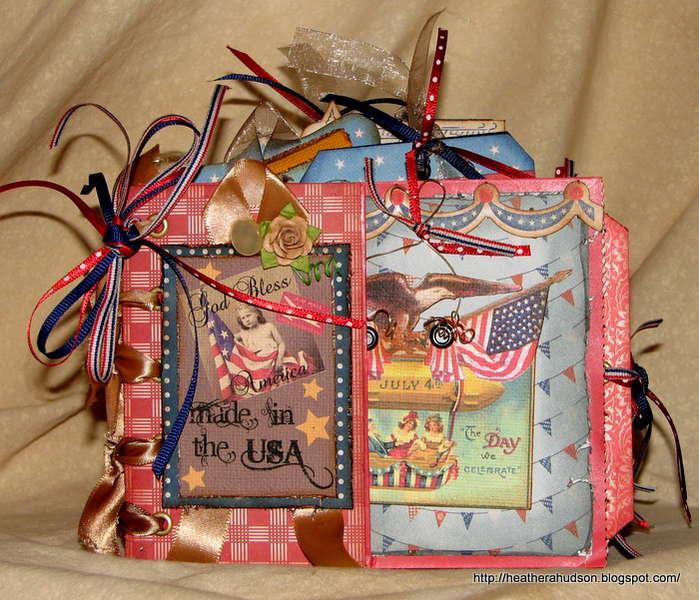 Americana Mini *Gecko Galz* *Flying Unicorn Blog Hop*