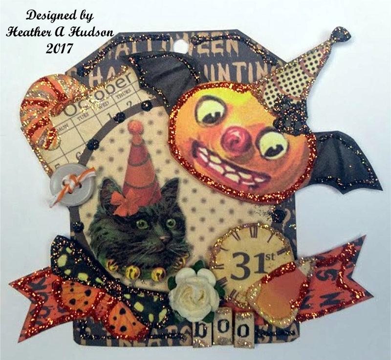 Just Batty Halloween Tag