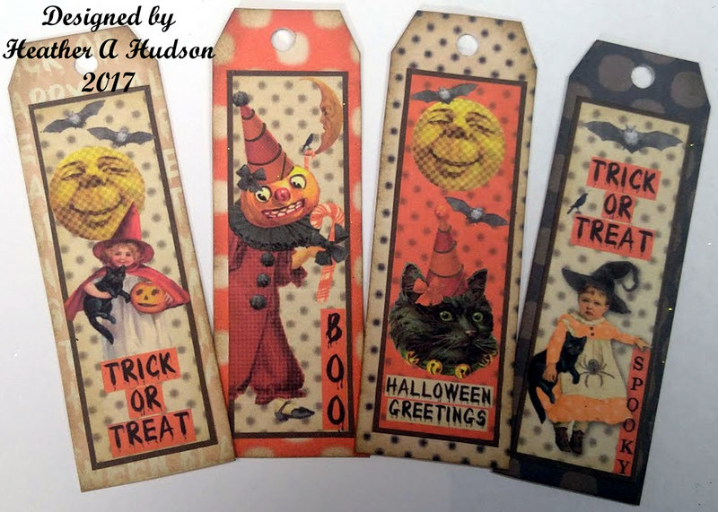 Tiny Halloween Gift Tags