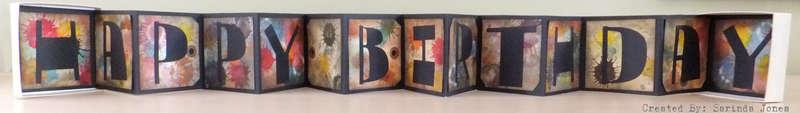 3D Bithday Popout Box