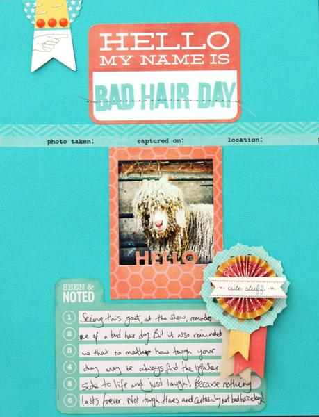 Bad Hair Day - Cocoa Daisy December kit
