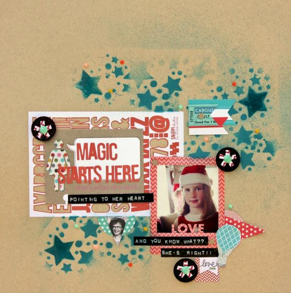 Magic Starts Here - Cocoa Daisy December kit