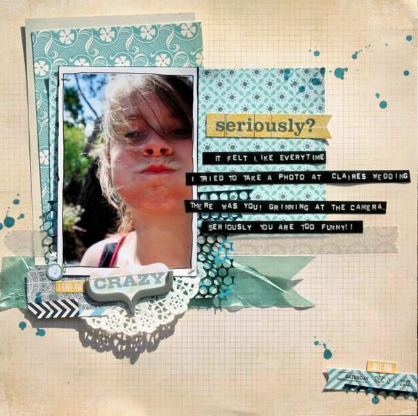 Seriously Crazy - Cocoa Daisy January Kit