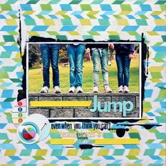 Jump - Febraury Cocoa Daisy Kit