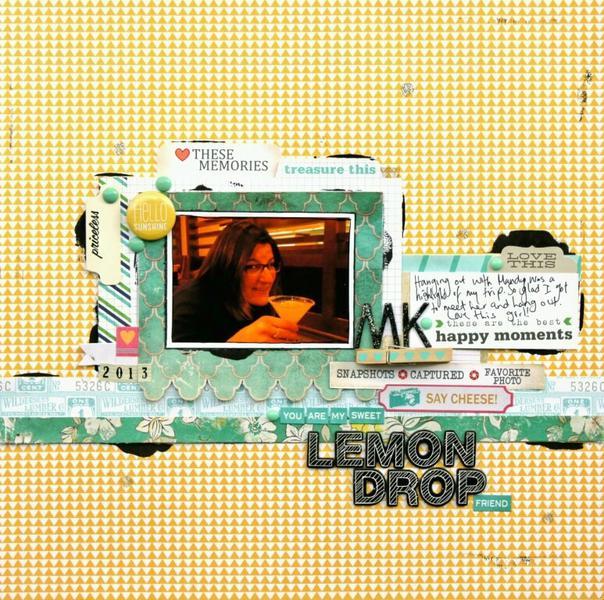 Lemon Drop *March Cocoa Daisy Kit*