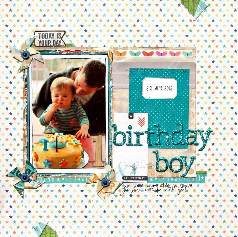 Birthday Boy - July Cocoa Daisy Kits