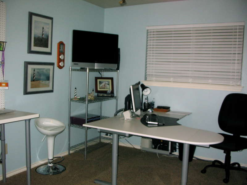 Craft Room and Office