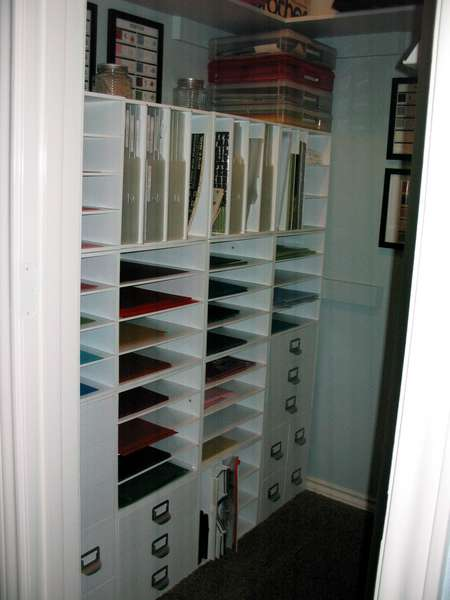 Craft Room Closet conversion