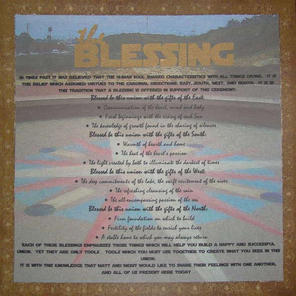 Wedding Album- The Blessing