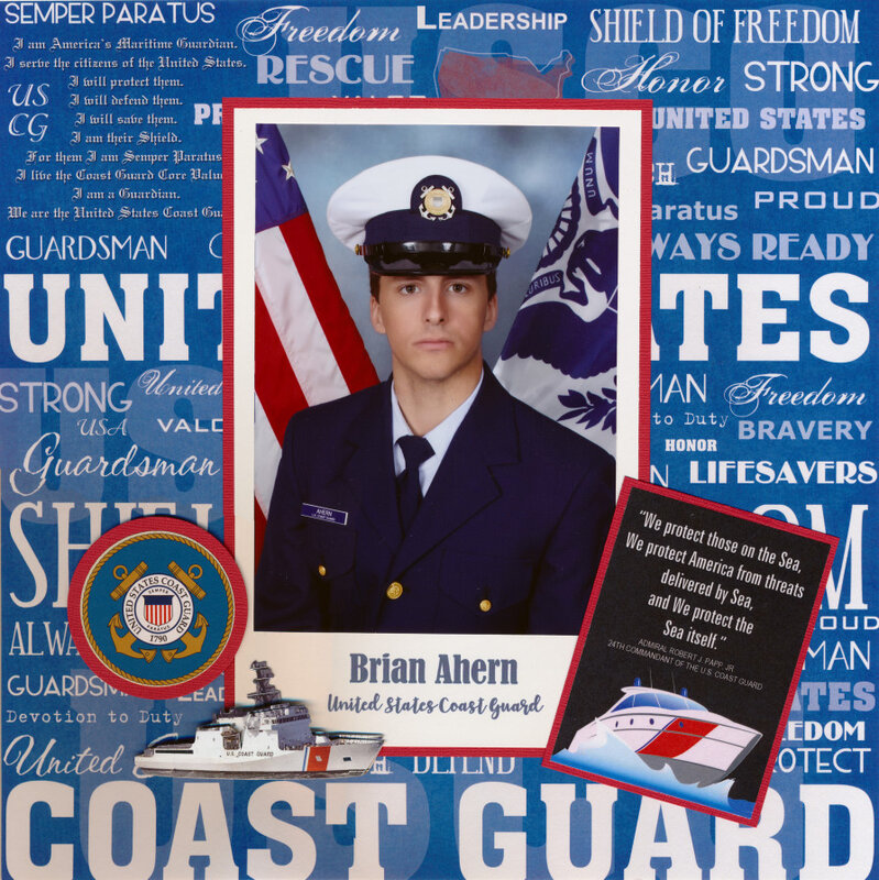 Brian Ahern, United States Coast Guard
