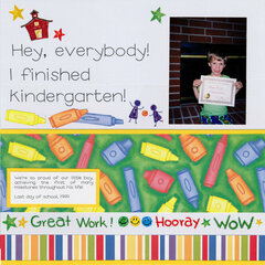 I Finished Kindergarten!