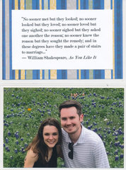 Wedding Guest Book Photo and Quote Page (1)