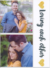 Wedding Guest Book Photo Page (1)