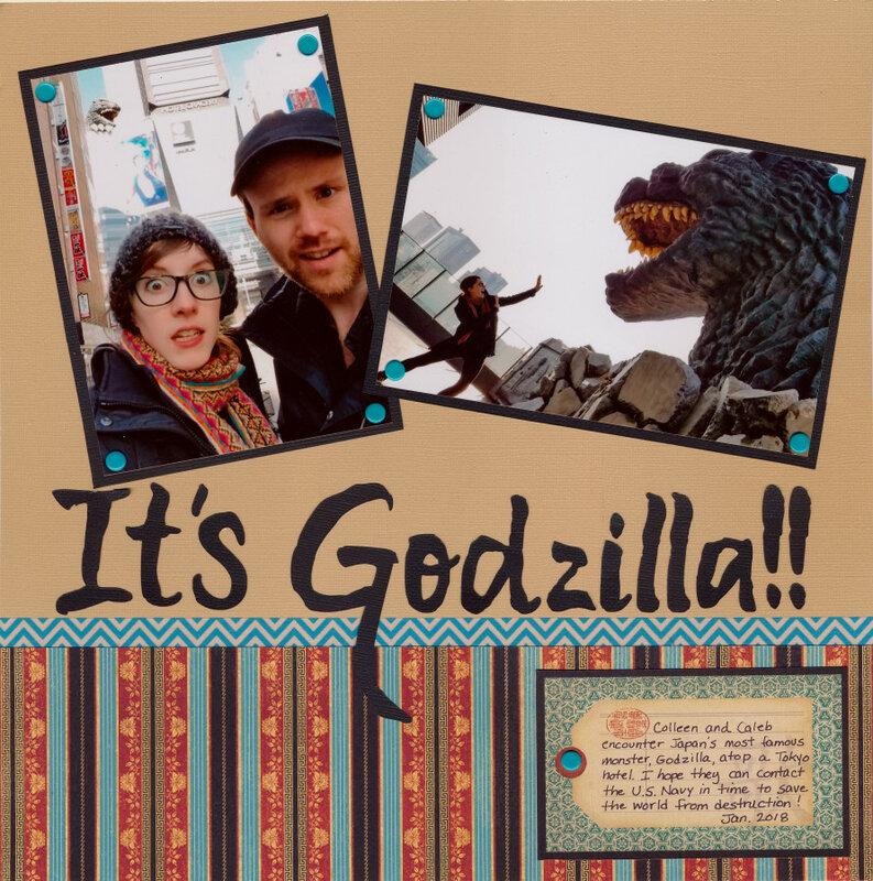 It's Godzilla!