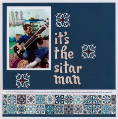 It's the Sitar Man
