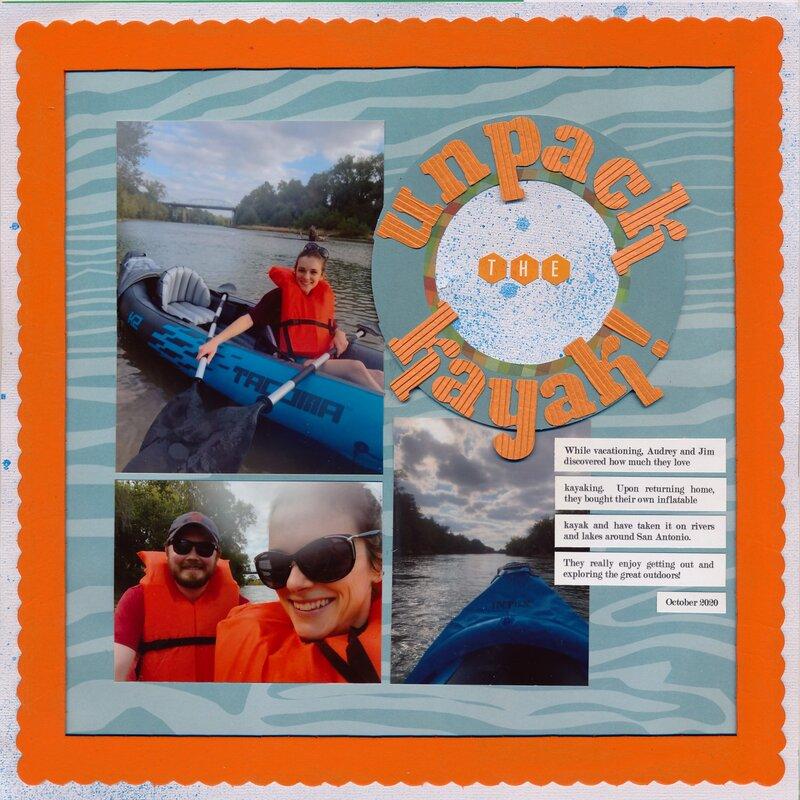 Unpack the Kayak!