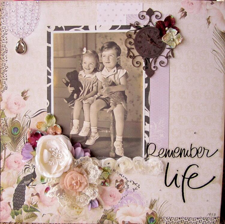 """Remember Life"" Scraps of Darkness"