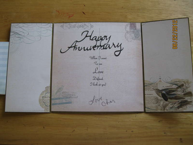 Anniversary Card Inside