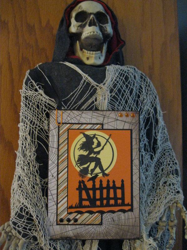 Halloween card for my DD
