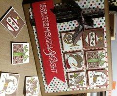 Christmas card - Merry & Bright