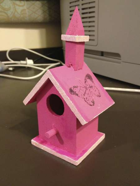 Baby Shower Birdhouse #3