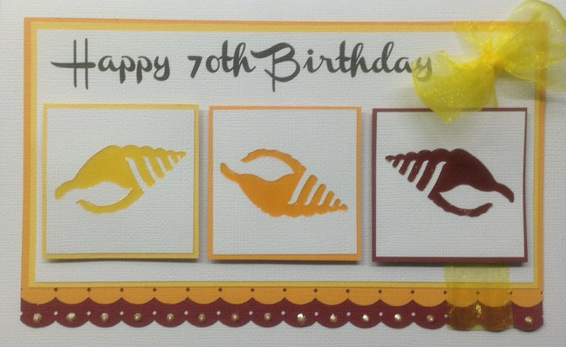 """Happy 70th Birthday"""