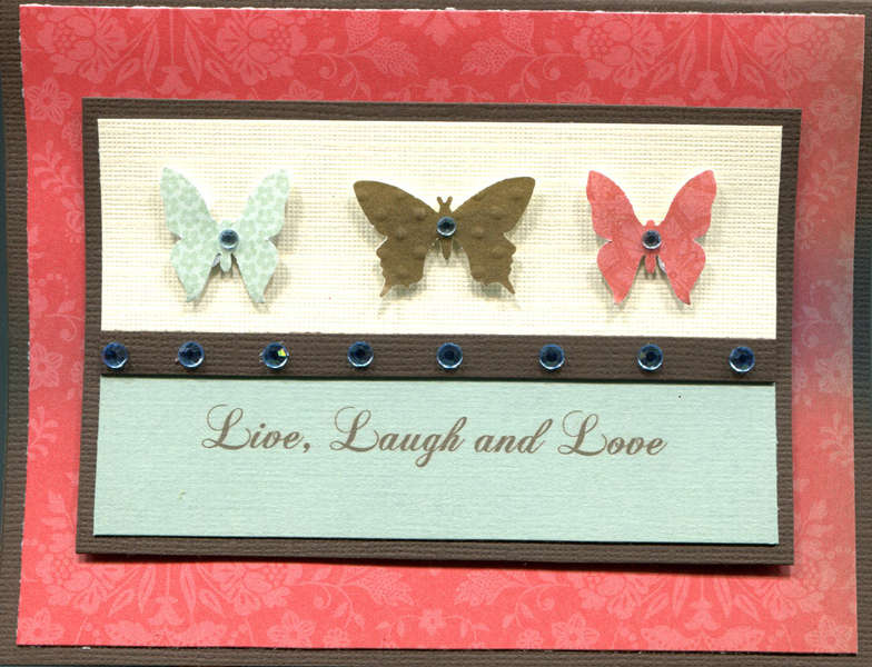 BUTTERFLY CARD 3