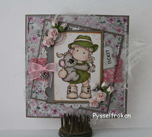 Card with Koala Hug from Magnolia