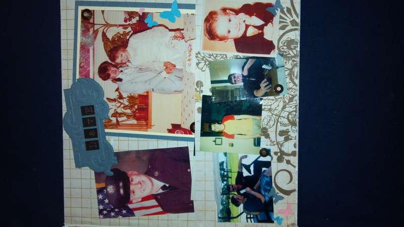 Grandpa H's mini album -Dave